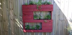 Watch this video to find out about four great DIY reuse and refinish projects for your home, including turning a wood pallet into a cool wine rack and planter.