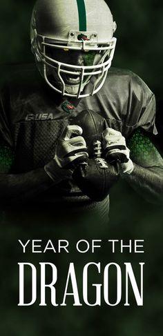2012 - Year of the Dragon (Go Blazers!)