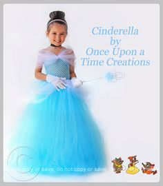 This is beautiful!!! Cinderella Inspired Princess Tutu Dress -