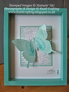 Beautiful Home Decor - order Stampin' Up! products online from KnallCrafting. Swallowtail Butterfly and En Francais.
