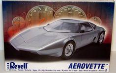 Aerovette Revell #85-2067 1/25 Scale New Plastic Model Car Kit - Shore Line Hobby