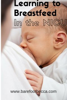 Starting a new breastfeeding journey is difficult. But, when you have to learn in the NICU, it can be even more stressful.  Here are a few simple tips to help make the experience a little easier on you and baby!
