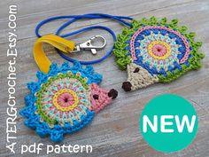 Crochet pattern HEDGEHOG ornaments by ATERGcrochet от ATERGcrochet