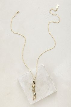 Favored Lane Necklace #anthropologie