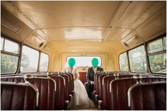 Huddersfield Wedding, Balloons, Quirky, Vintage Bus, Paul Joseph Photography, www.pauljosephphotography.co.uk Mark Lesley Dress