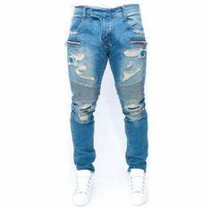 Balmain Balmain Jeans Men, Biker Jeans, Denim Pants, Ripped Jeans, Cheap  Jeans af89cc1b1c1c