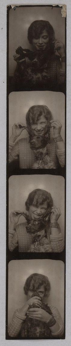 Suzanne Muzard Surrealist Movement with Breton Photo taken around 1929