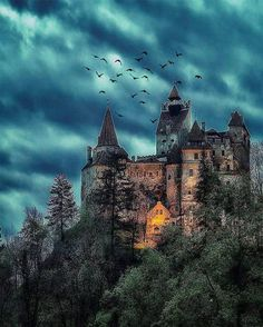 Dracula Castle a.a Bran Castle, Transylvania, Romania Best Places To Travel, Places To See, Beautiful Castles, Beautiful Places, Draculas Castle Romania, Bran Castle Romania, Transylvania Romania, Transylvania Castle, Transylvania Dracula
