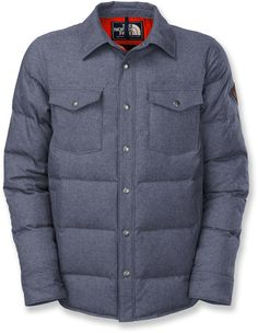 The North Face Cook Down Shirt Jacket