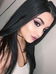"Mauve Makeup Look using The Balm Meet Matte Nudes Palette. Colourpop Ultra Matte Lip in ""Beeper"" Becca Cosmetics ""Champagne Pop"""