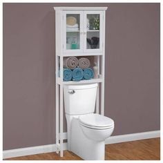 Over The Toilet Bathroom Organizers bathroom cabinet over toilet storage shelves wall towels bath