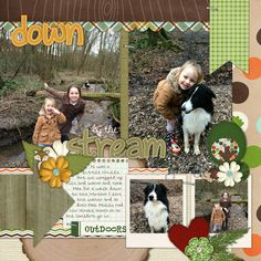 Winter Woodland & In the Forest-by Chelle's Creation