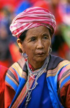 Beautiful faces of Asia