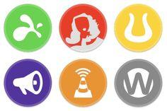 Lots of sets of high-quality badges -- free for 3Dgamelab 3DGL