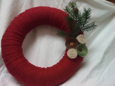 Woodland Holiday Christmas Wreath DIY