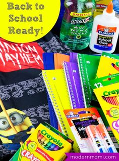 Get ready for back to school and finish all your back to school shopping with great prices on back to school supplies and clothes at Walmart!