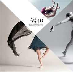 Agape Dance Studio Logo on Behance Web Design, Page Design, Book Design, Graphic Design, Portfolio Book, Portfolio Design, Dance Logo, Poster Layout, Poster Ideas