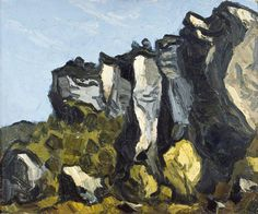 kyffin williams- rocamdour