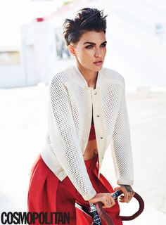 """13 Reasons """"Orange Is The New Black"""" Star Ruby Rose Is The Most Amazing Person In The World"""