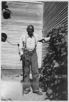 LORENZA EZELL, Beaumont, Texas, Negro, was born in 1850 on the plantation of Ned Lipscomb, in Spartanburg County, South Carolina. Lorenza is above the average in intelligence and remembers many incidents of slavery and Reconstruction days. He came to Brenham, Texas, in 1882, and several years later moved to Beaumont, where he lives in a little shack almost hidden by vines and trees.