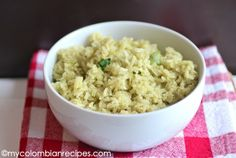 very simple cilantro rice! tastes amazing