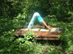Outdoor Yoga Plaform