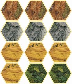 Printable Settlers of Catan game. by in Types > Games & Puzzles, settlers of catan, and catan Catan Board Game, Design Creation, Settlers Of Catan, Printable Board Games, Hex Tile, Board Game Design, Wood Games, Fantasy Map, Family Game Night