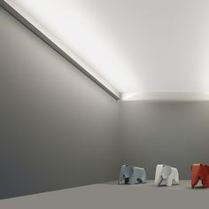 Thin LED is a unique wall luminaire designed for indirect lighting. This lighting system from FLOS Architectural is designed to throw light far and wide.