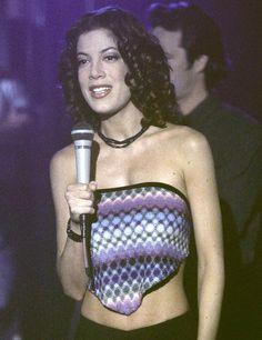 Tori Spelling qui jouait Donna Martin - Beverly Hills 90210 : Découvrez à quoi ressemblent les acteurs aujourd'hui - Voici
