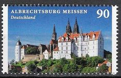 German Stamps, Postage Stamps, Germany, House Styles, World, Castles, Palaces, Php, Architecture