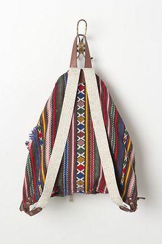 geo backpack // anthropologie