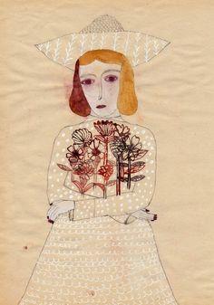 untitled work by Takatoshi Sano (contemporary), Japanese (illustratedladies)