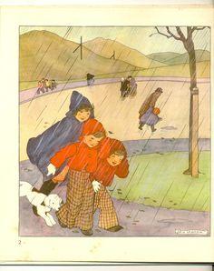 Rie Cramer - Lot met 8 maandprentenboeken - 1939
