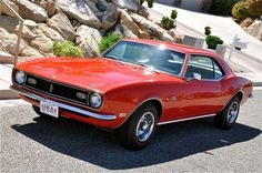 1968 Camaro, yep used to have one! OMG the total muscle car!