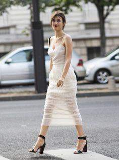 good dress. #JeanneDamas in Paris.