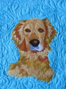 Sparky SF: Dog photo quilt tutorial