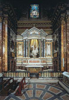 Éxtasis de Santa Teresa, por Gian Lorenzo Bernini, (Barroco Italiano), Capilla Cornaro, Iglesia de Santa Maria della Vittoria, Roma, Italia, 1644—1652 | José Miguel Hernández Hernández