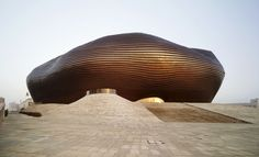 Ordos Art and City Museum MAD Architects