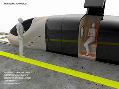 Kuralkan, future train, futuristic transportation,  individual capsule