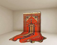 Embroidered art by Faig Ahmed