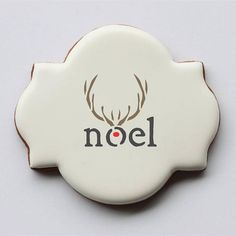 First Noel Basic Words Cookie Stencil by Confection Couture