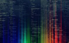 Programming lines of code abstract Free HD Wallpaper