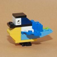 vogels nabouwen van lego - MontessoriNet