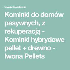 Kominki do domów pasywnych, z rekuperacją - Kominki hybrydowe  pellet + drewno - Iwona Pellets