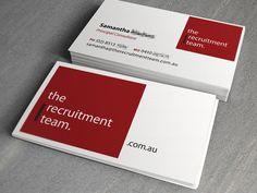Recruitment Team Card