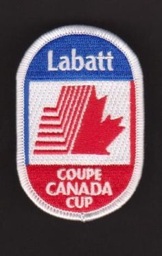 CANADA-COUPE-CUP-LABATT-1976-WINTER-OLYMPICS-NHL-PATCH