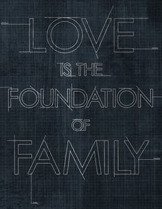 Love & Family Framed Giclee Print