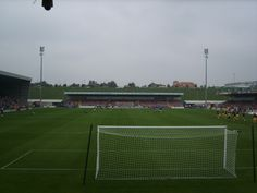 Sixfields Stadium, Northampton Town Football Club...home of the Cobblers!