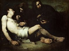 Théodule Ribot  The Martyrdom of St Sebastian, 1865, oil on canvas