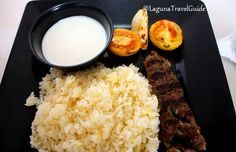 Beef Koobideh with Buttered Rice from Chubby Habbi's Mediterranean Grill Find Hotels, Travel Guide, Grilling, Good Food, Rice, Beef, Meat, Travel Guide Books, Crickets